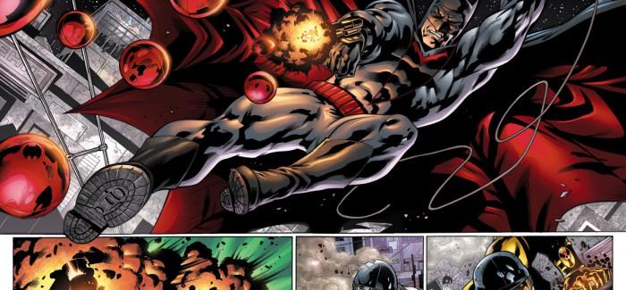 WC '13: Présentation du Batman de la Terre 2