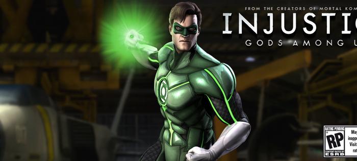 INJUSTICE GOD AMONG US: Présentation de Green Lantern