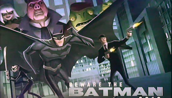 BEWARE THE BATMAN: Le générique