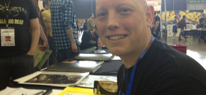 Paris Comics Expo '13: David Finch de retour !!