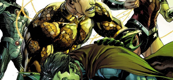 Justice League n°19… la preview !