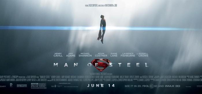 MAN OF STEEL : nouvelle affiche !